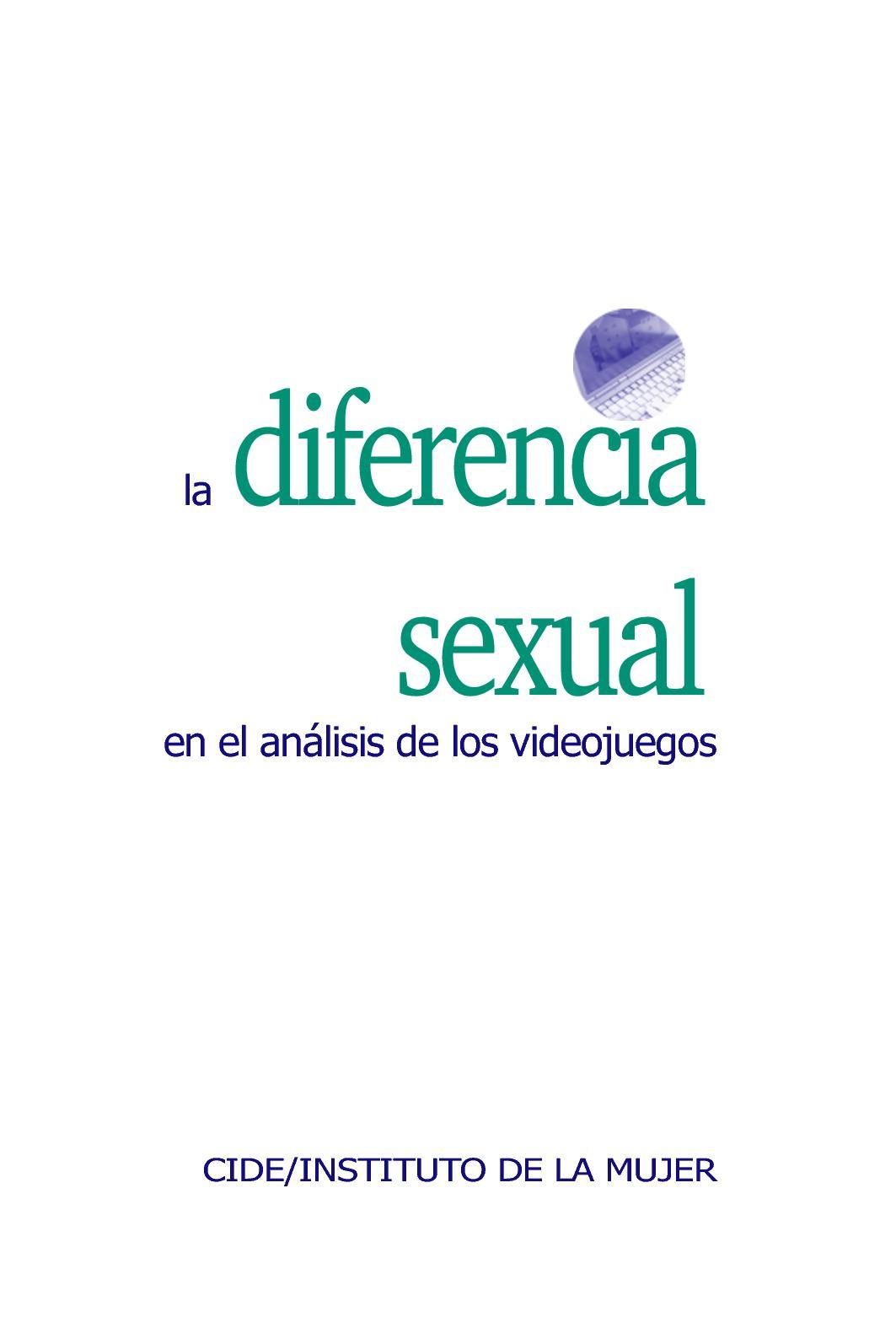 Calaméo - Diferencia Sexual Analisis Videojuegos 5a110d880f749