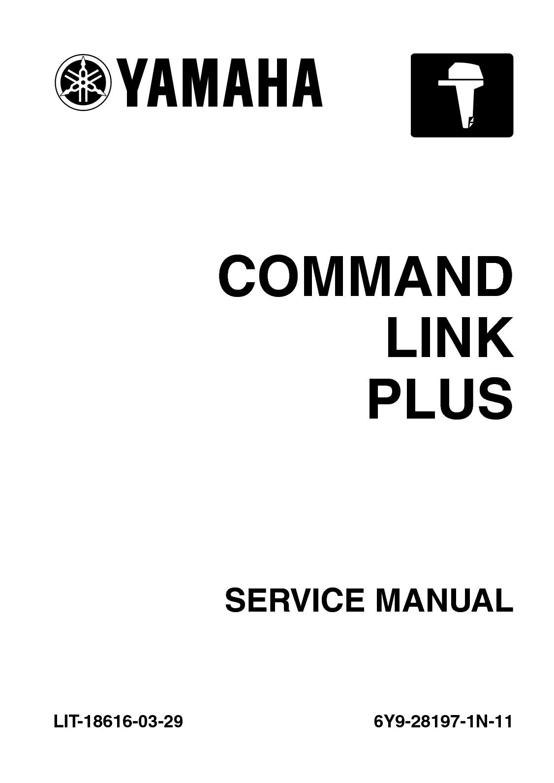 Calaméo - 2011 Yamaha 6×7 Type A COMMAND LINK PLUS Service Repair Manual  SN:0000749 And Up