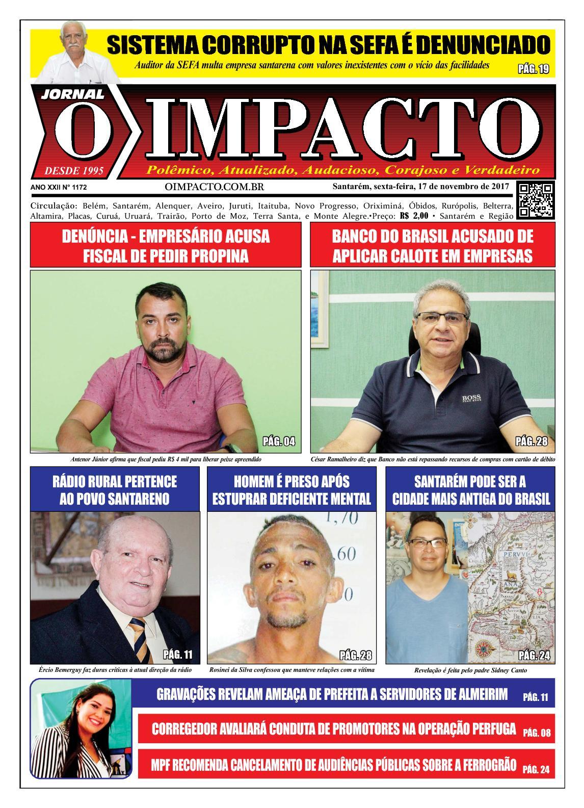 Anelise Pelada calaméo - jornal o impacto ed. 1172