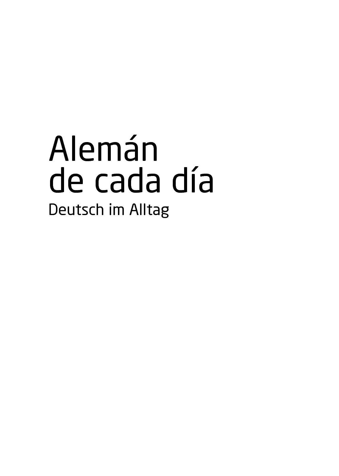 Calaméo Pons Aleman De Cada Día Deutsch Im Alltag