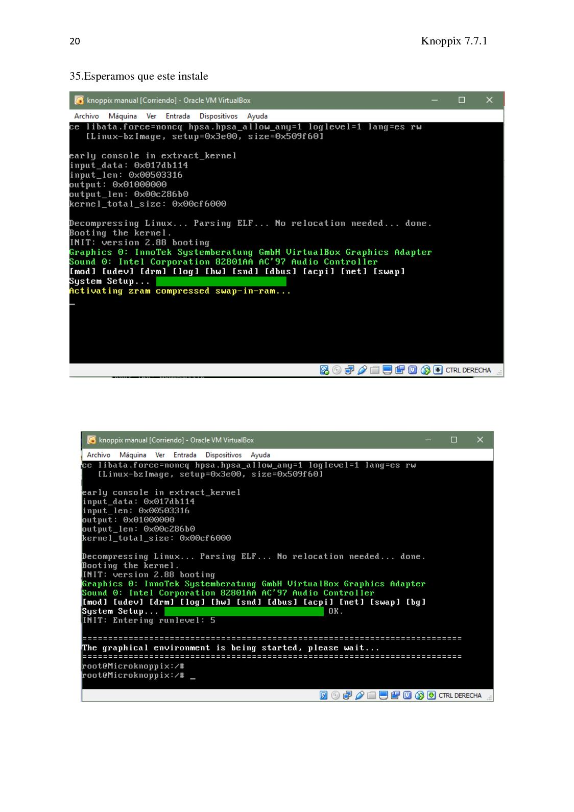 Manual De Instalacion De Knoppix En El Virtual Box - CALAMEO