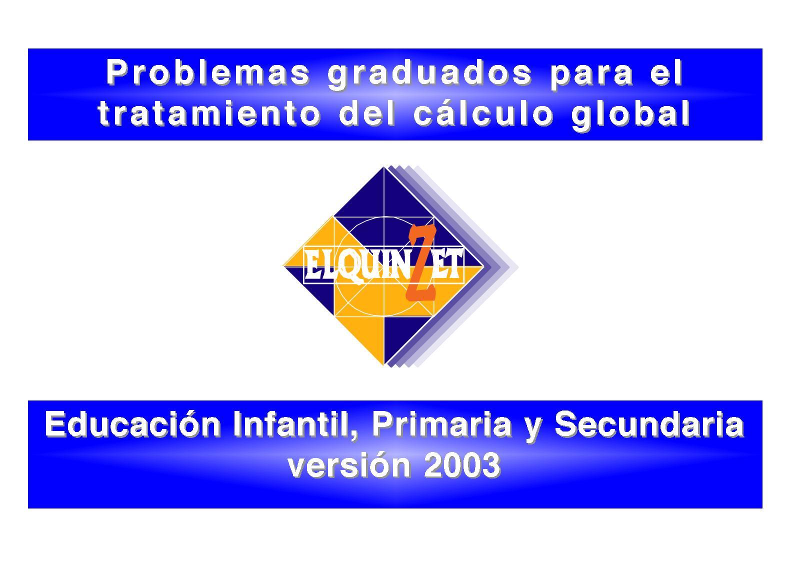 Problemas Quinzet