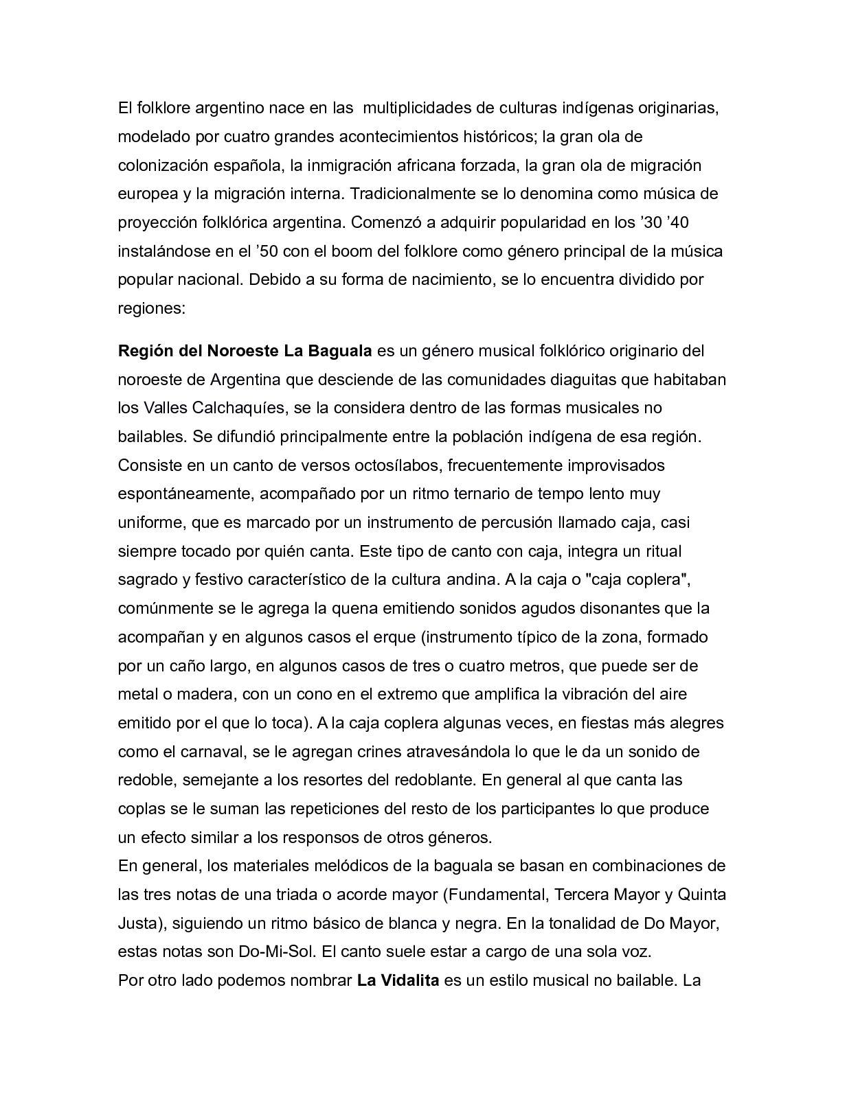 Calaméo Tic Calameo Regiones Danzas Y Estilos Musicales