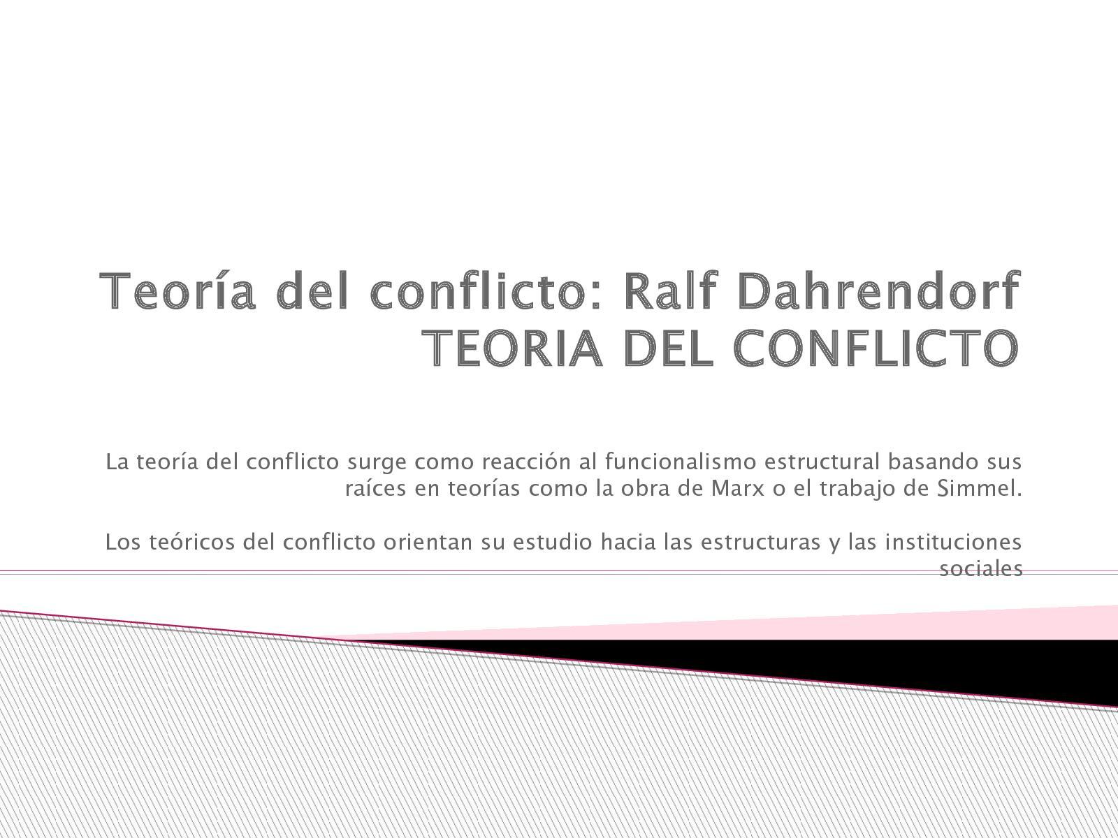 Calaméo Teoría Del Conflicto