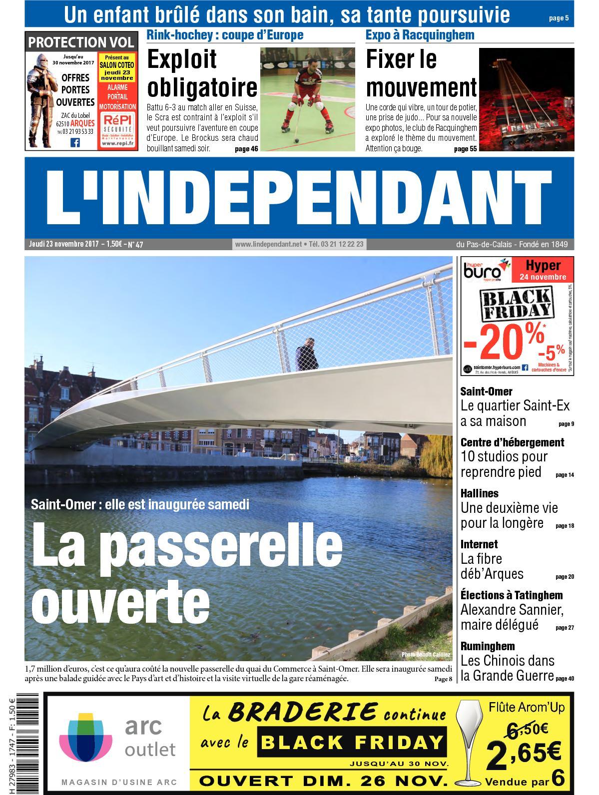 Calameo L Independant Semaine 47 2017