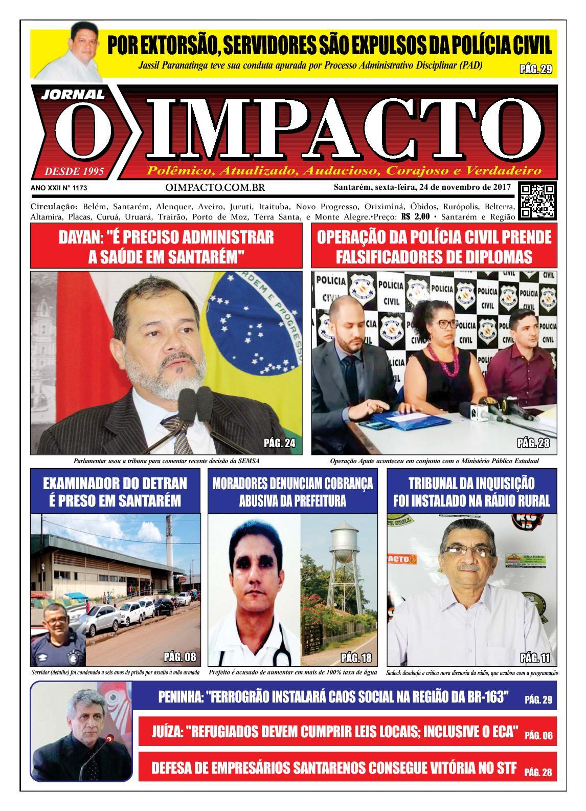 Calaméo - Jornal O Impacto Ed. 1173 cfe62cb748