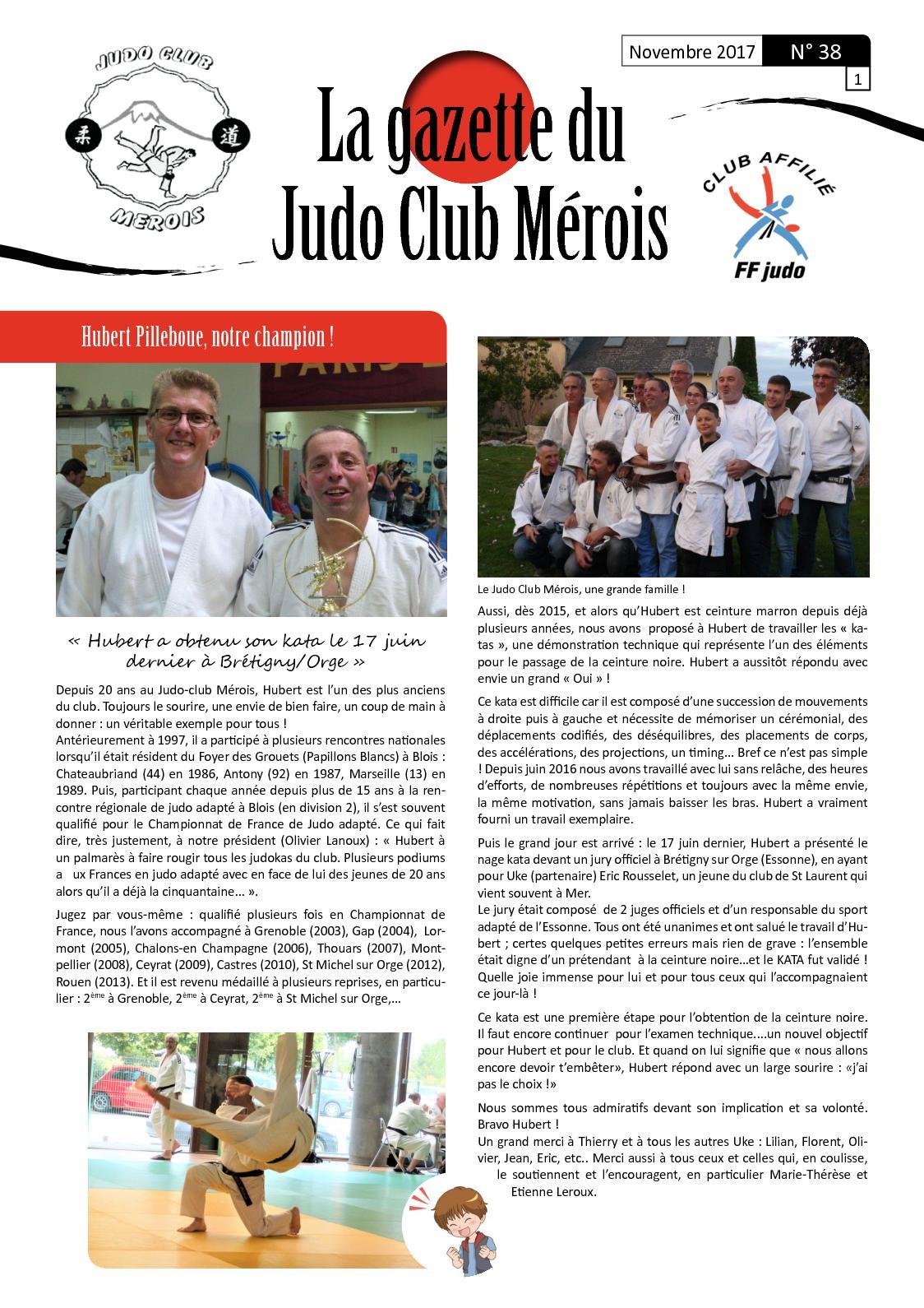 Calaméo - Gazette Judo Club Merois Novembre 2017 e29a24cbafc