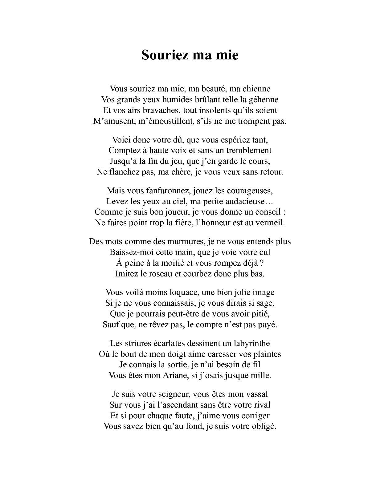 Poèmes Bdsm Collectif Dauteurs Calameo Downloader