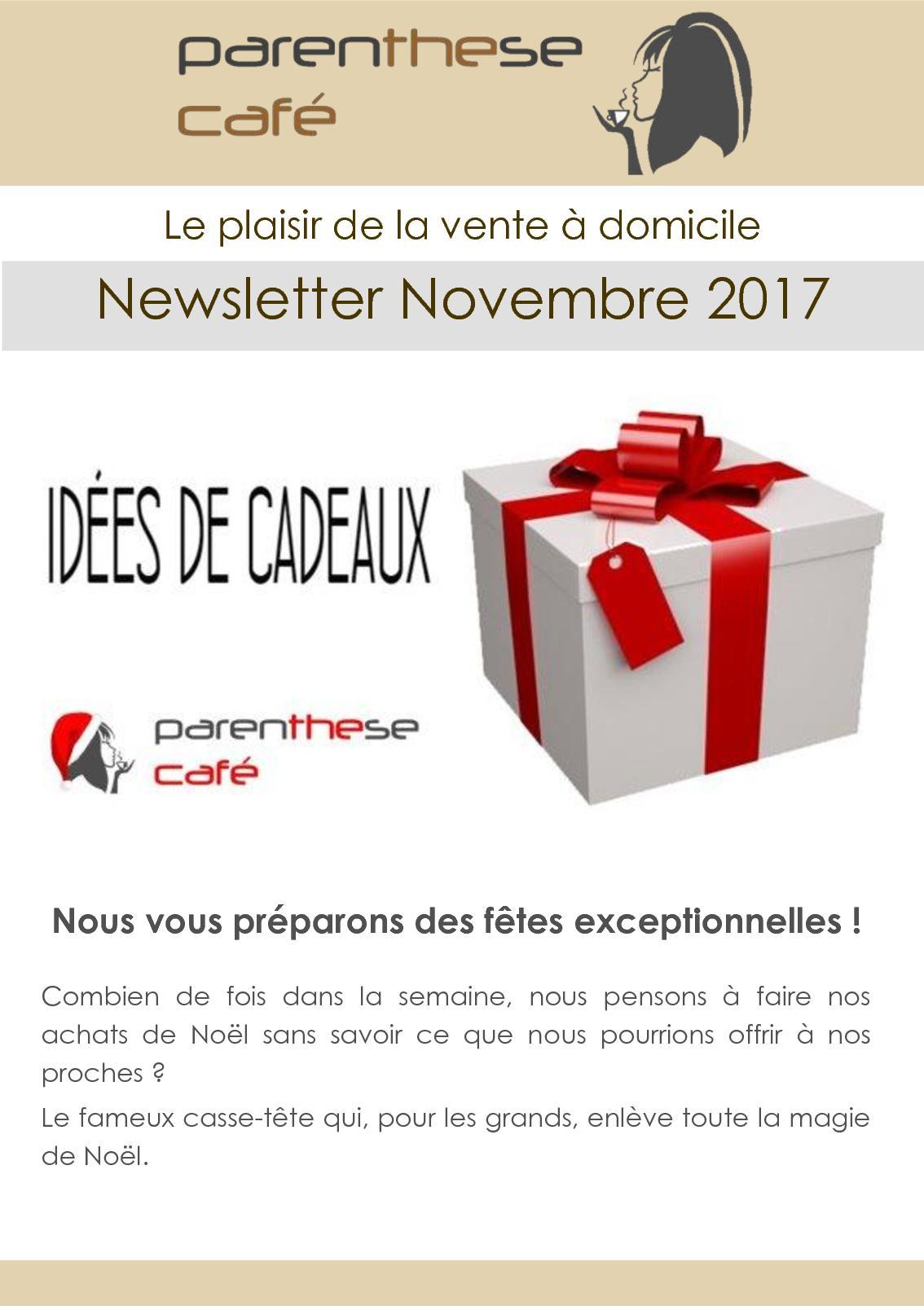 9bd91f2fa91627 Calaméo - Newsletter Parenthese Café 2017 11