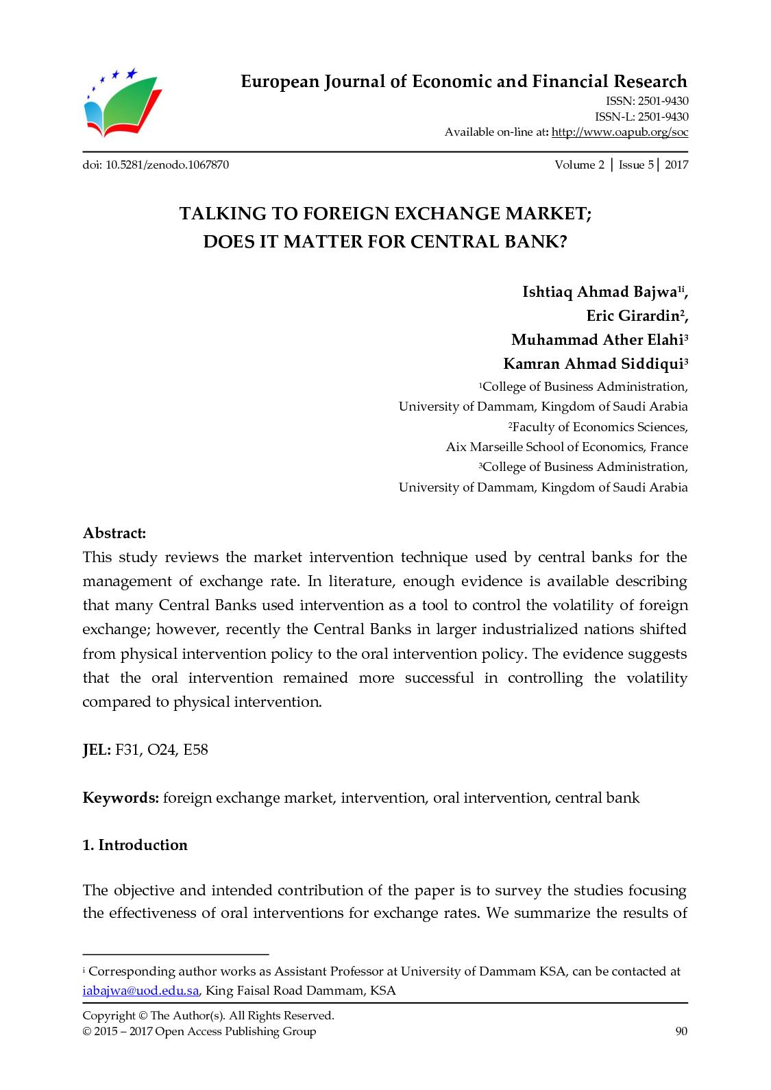 Calameo Talking To Foreign Exchange Market Does It Matter For Central Bank Sponsored by intervention central, this free site allows users to create math computation worksheets and answer keys for addition, subtraction, multiplication, and division. calameo