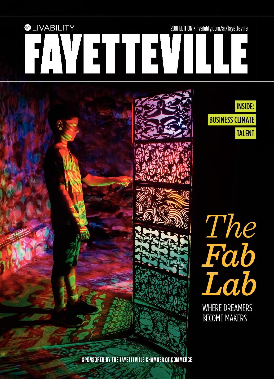 Calaméo Livability Fayetteville Ar 2018