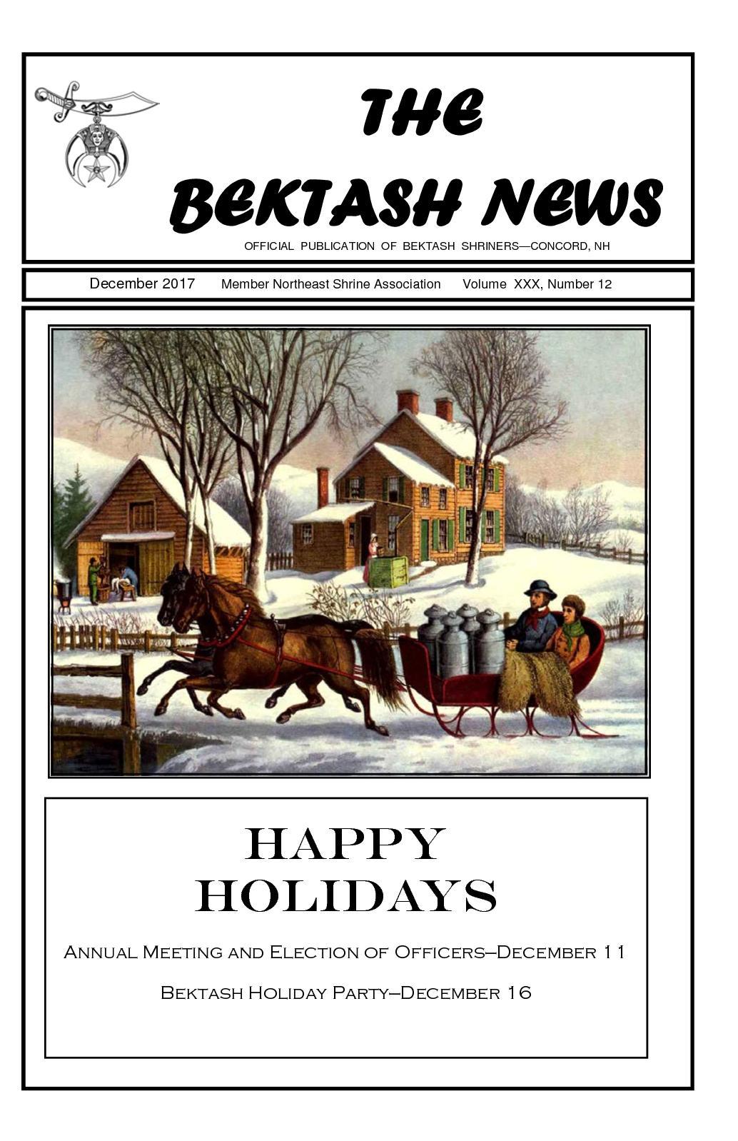 Calaméo - Bektash News - December 2017
