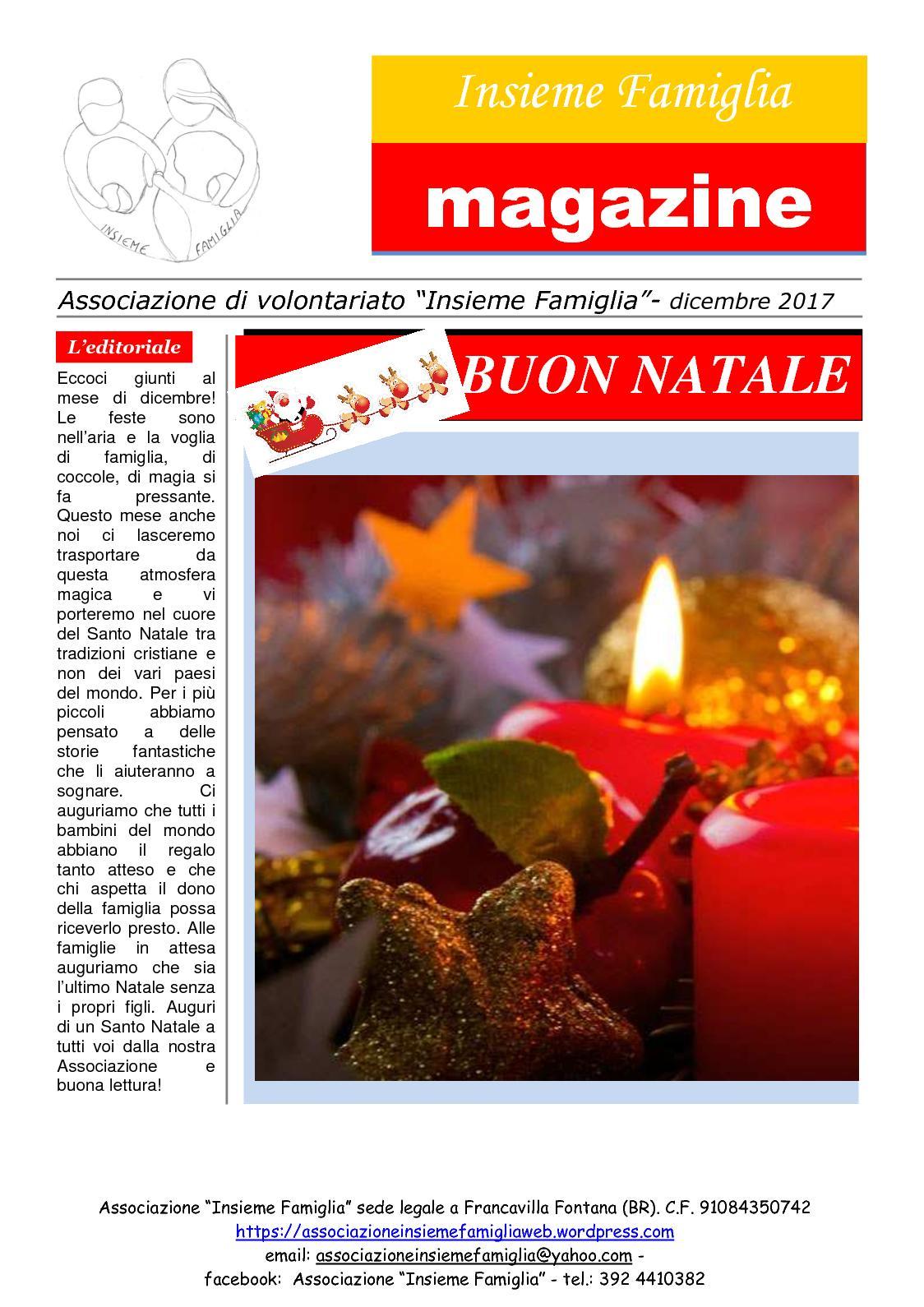 Auguri Di Buon Natale Yahoo.Calameo Magazine Dicembre 17