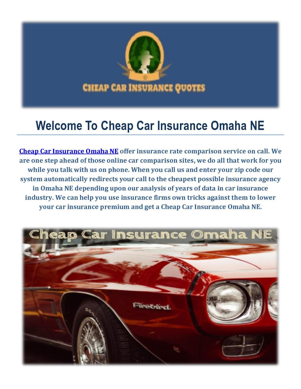 Calameo Cheap Car Insurance Agency In Omaha