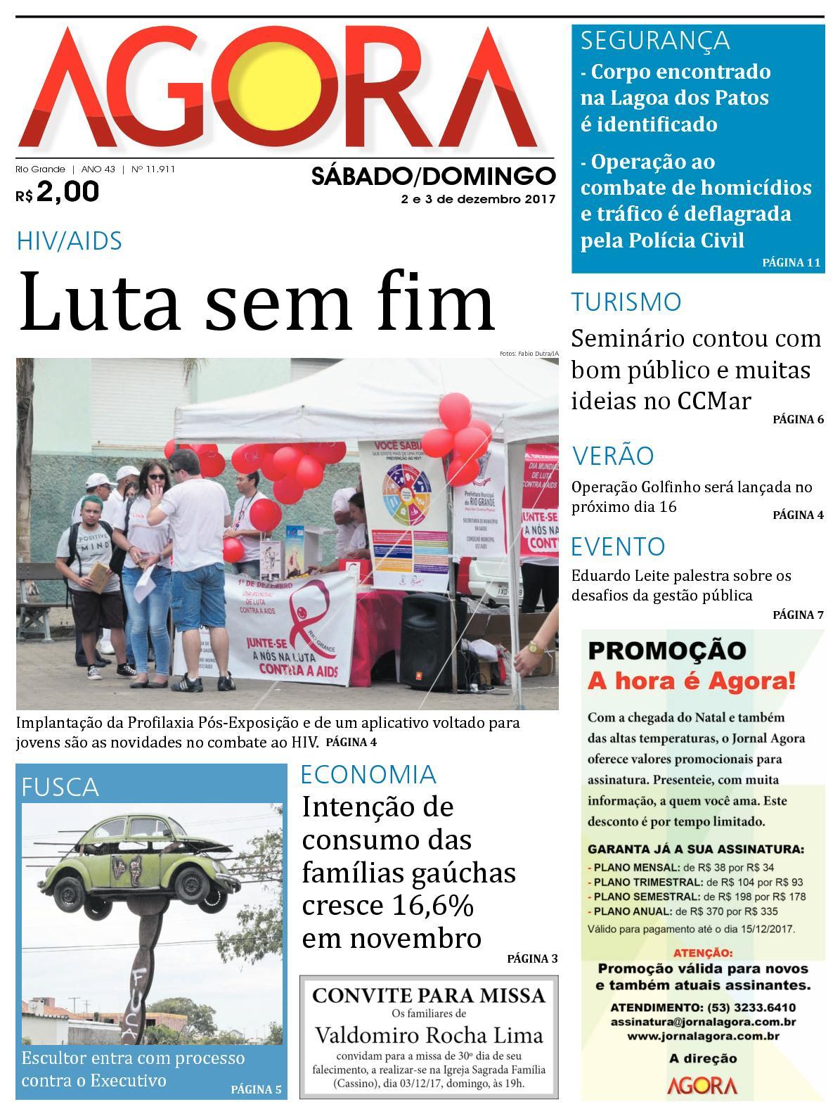 400c514e1 Calaméo - Jornal Agora - Edição 11911 - 2 e 3 de Dezembro de 2017