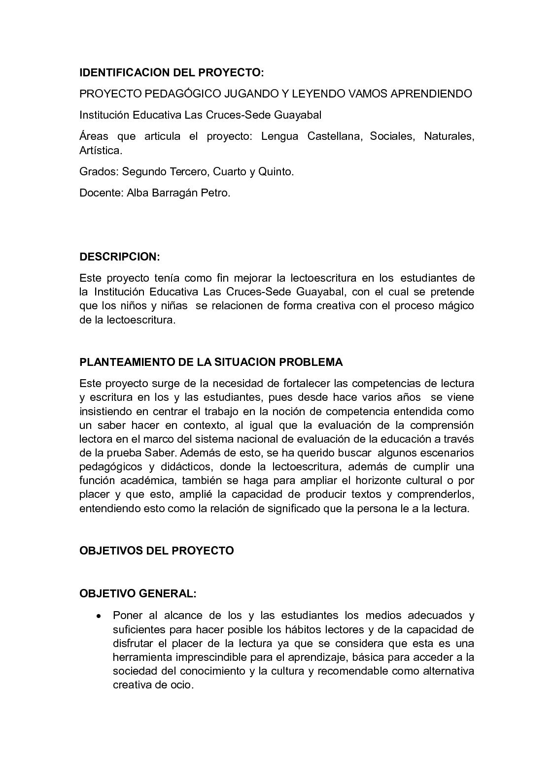 Calaméo - Informe Final Proyecto Lectoescritura