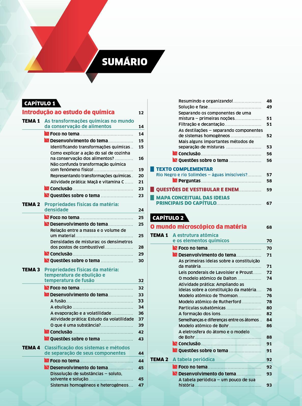 Calaméo Química Luiz Carlos Volume 1