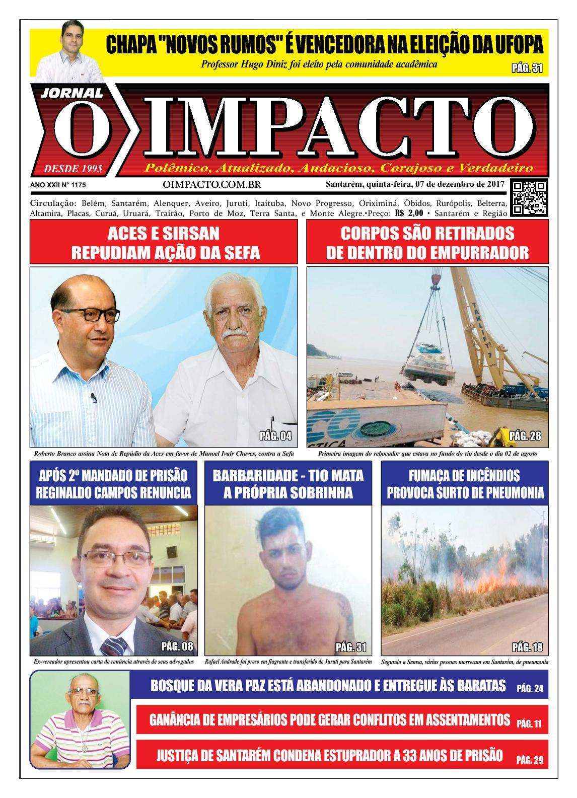 Calaméo - Jornal O Impacto Ed. 1175 5840705fccce5