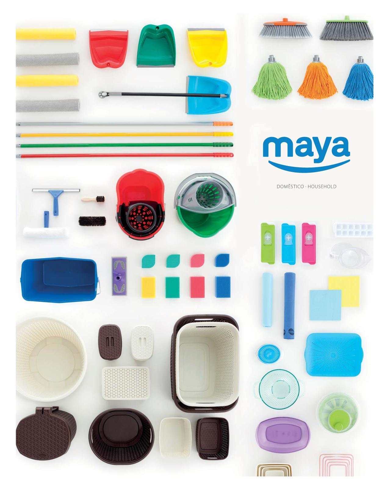 Escobillero WC Maya 02093 Blanco