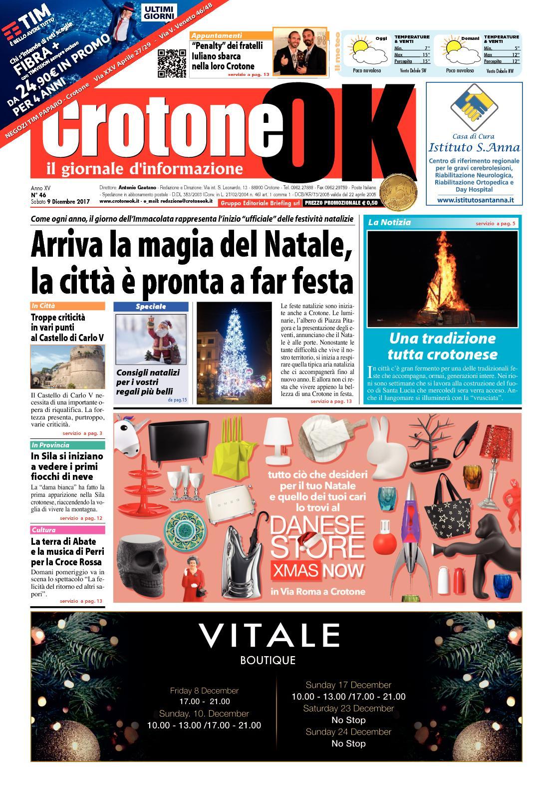 Calaméo - Giornale CrotoneOk N° 46   2017 17391ae044e
