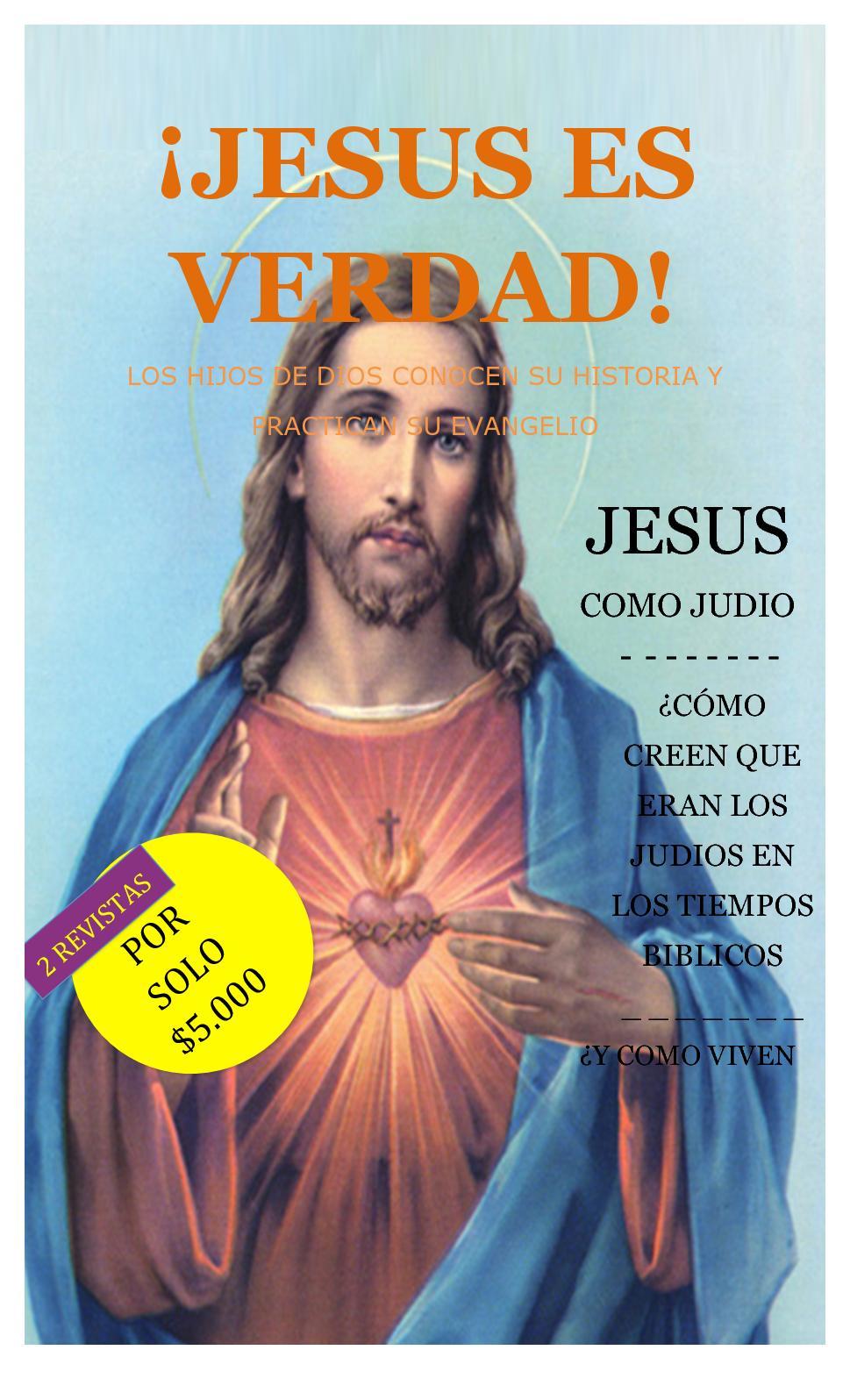 Calaméo Jesus Es Verdad Revista Religion