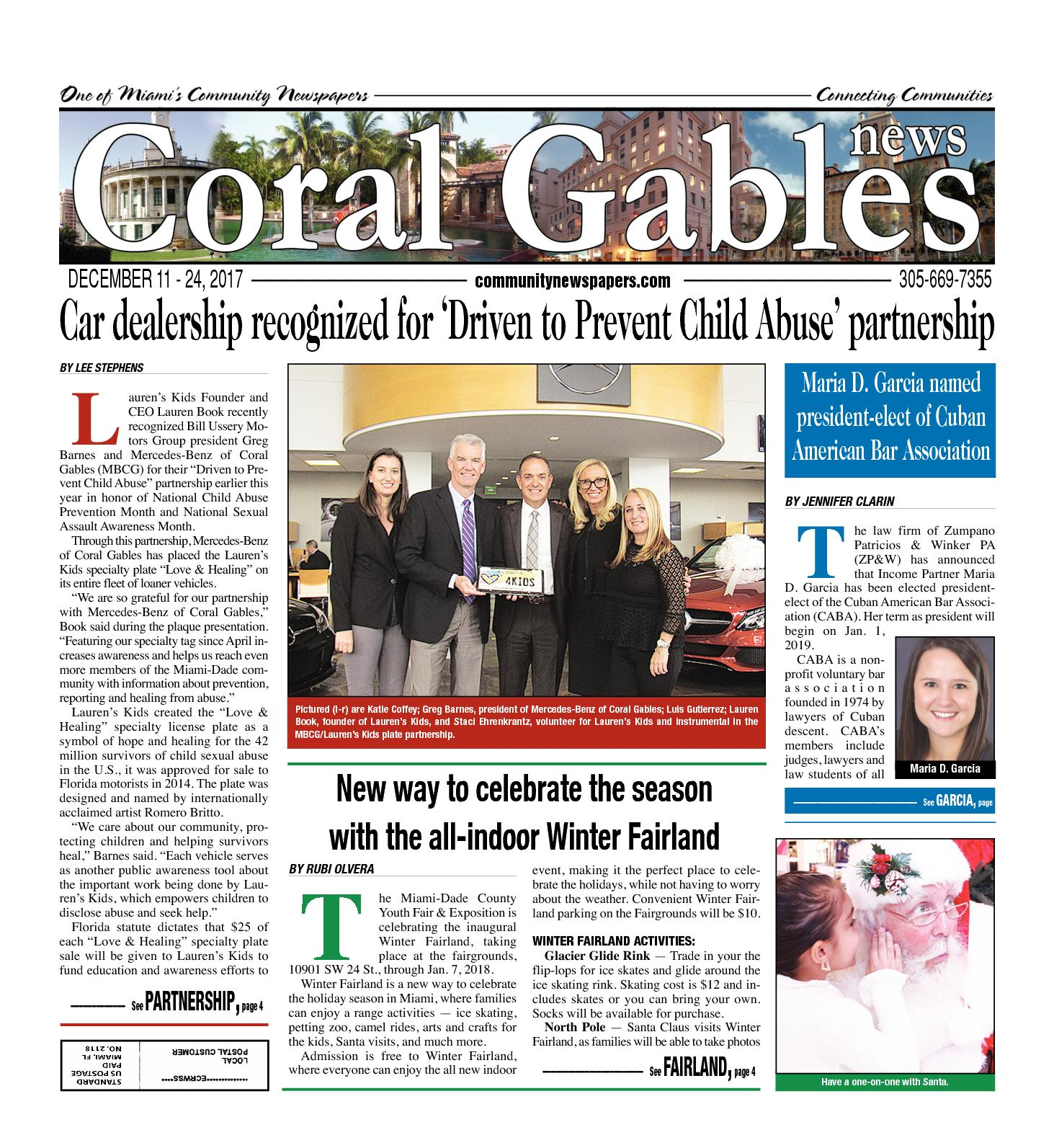 Calaméo - Coral Gables News 12 11 2017