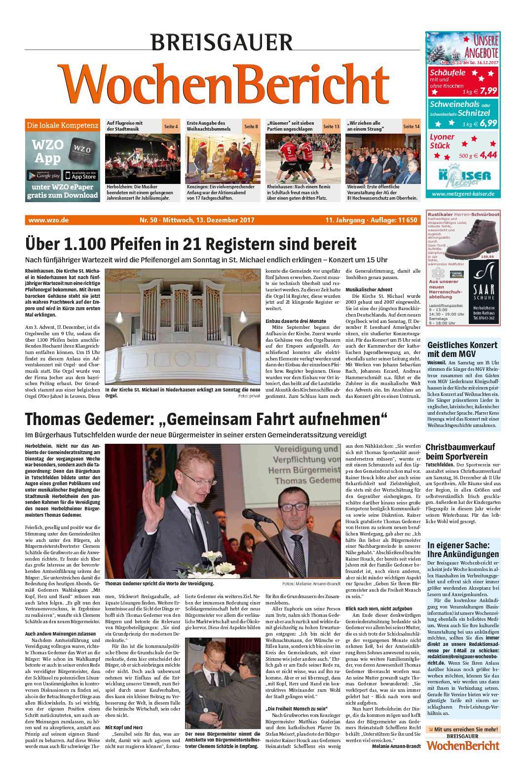 Breisgauer-Wochenbericht