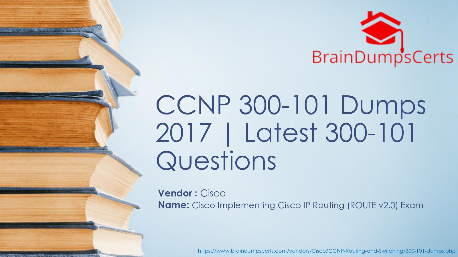 Ccnp Route 300-101 Book