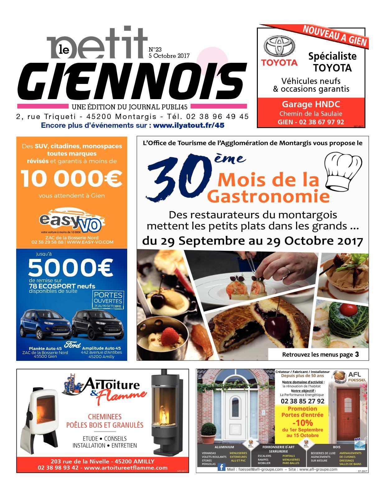 Conforama Montargis Rue Des Frères Lumière Villemandeur calaméo - petit giennois s41 oct2017