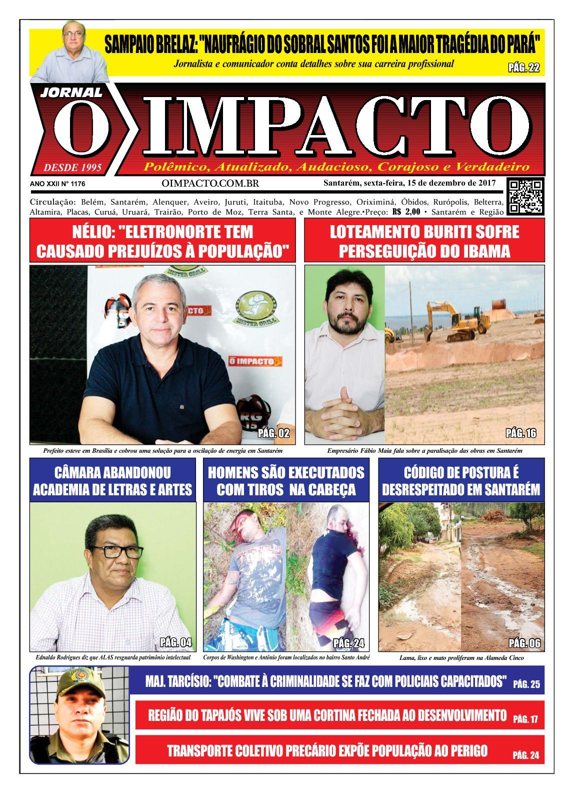 Calaméo - Jornal O Impacto Ed. 1176 e712dede7e569