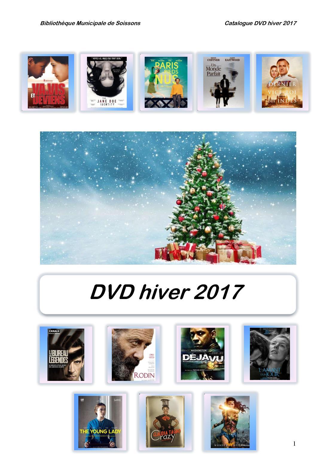 Calaméo - Nouveautés Dvd Hiver2017