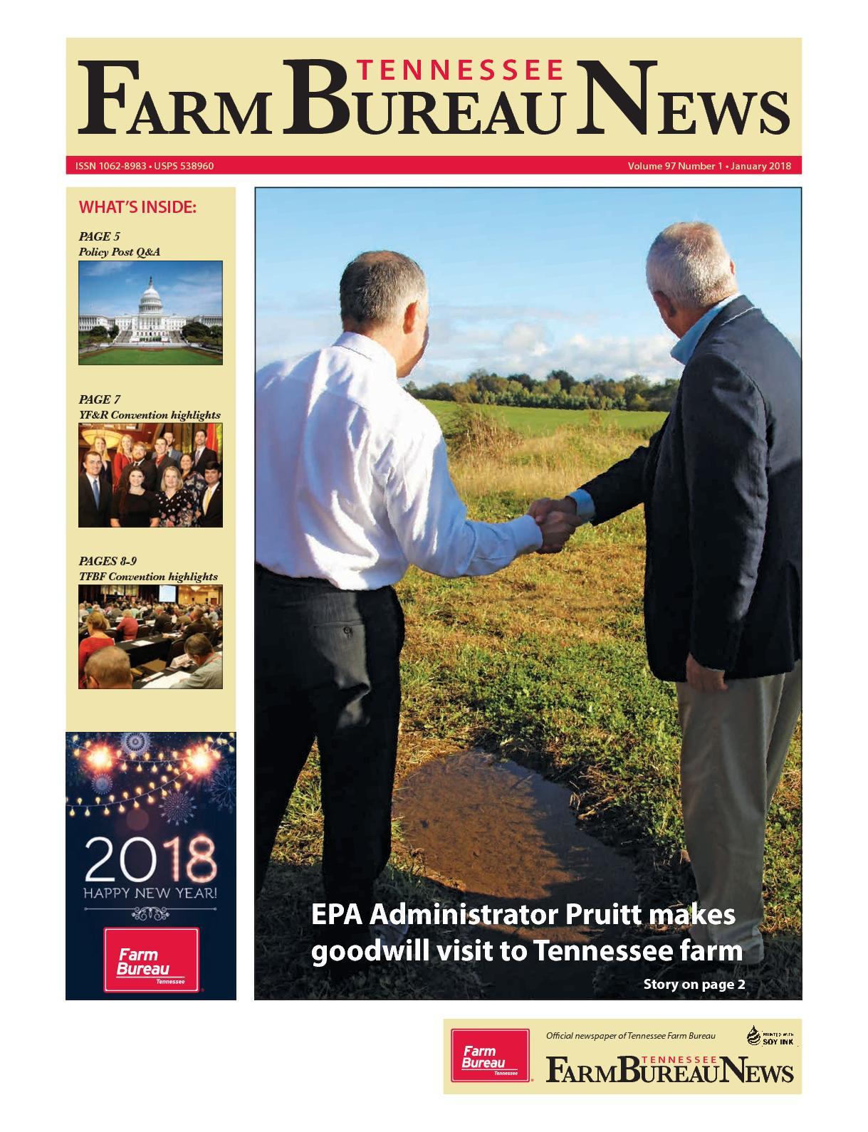 American Pickers Pikeville Nc calaméo - january 2018: tn farm bureau news