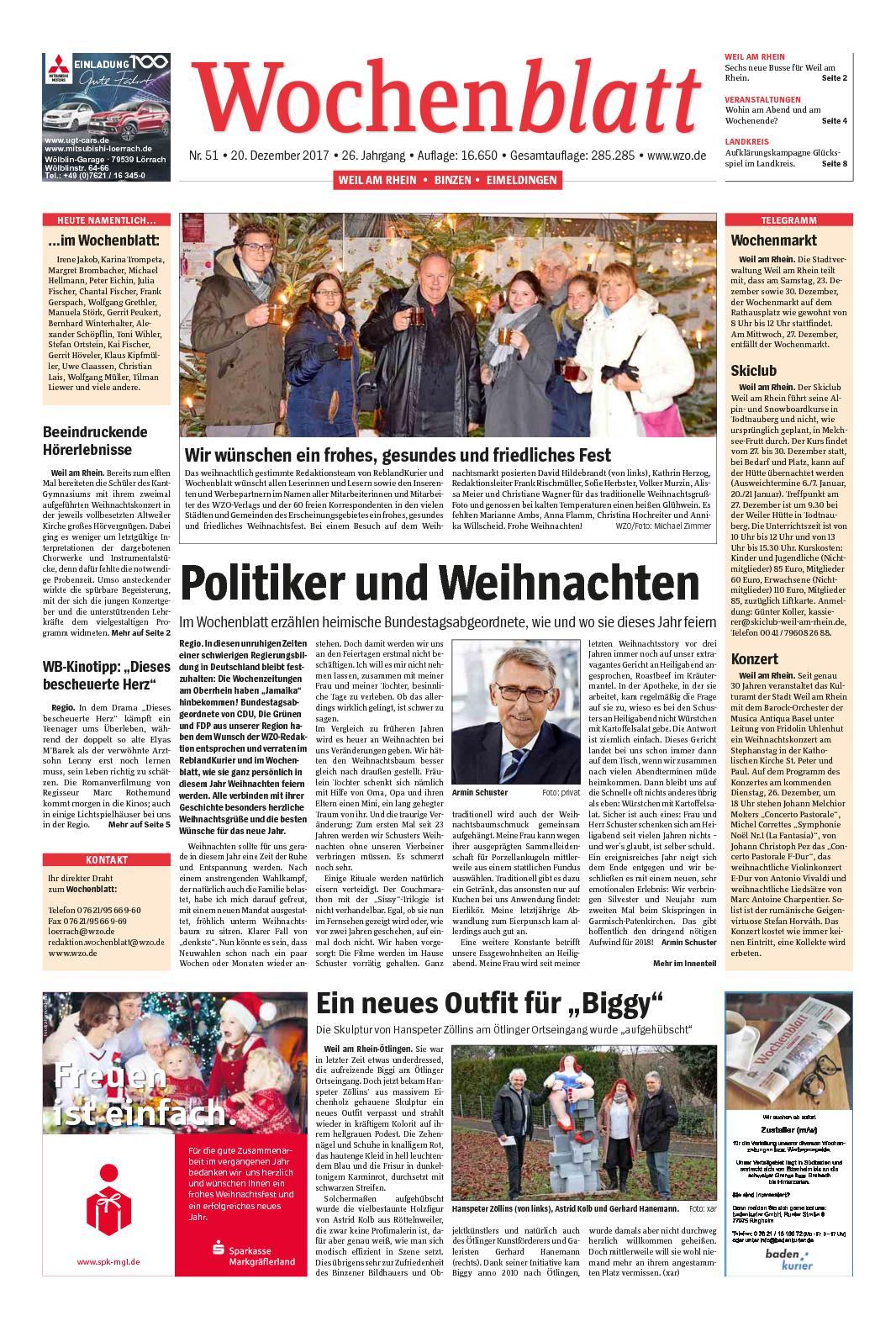 Licher wochenblatt online dating