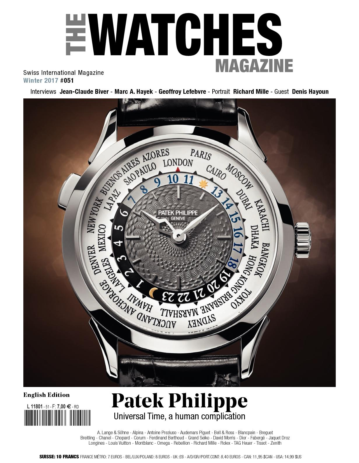 Calaméo - THE WATCHES MAGAZINE  051 EN 760d03294b