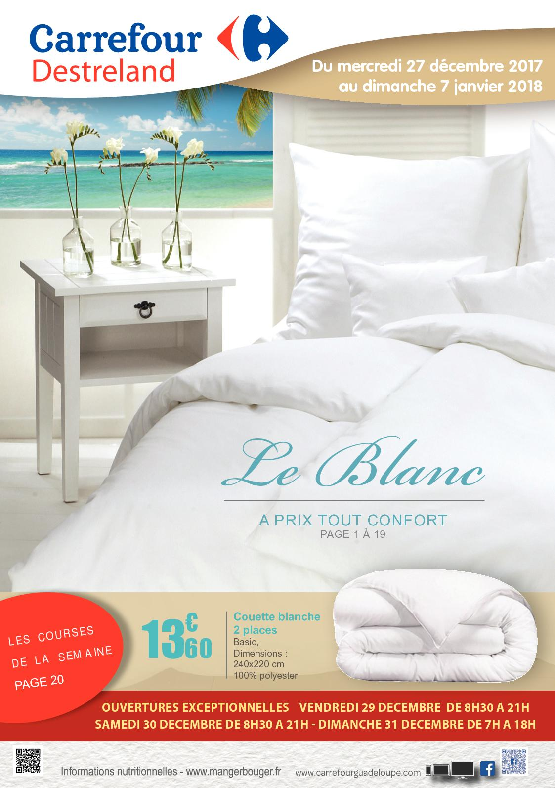 Calaméo Carrefour Guadeloupe Destreland Catalogue Blanc 2018