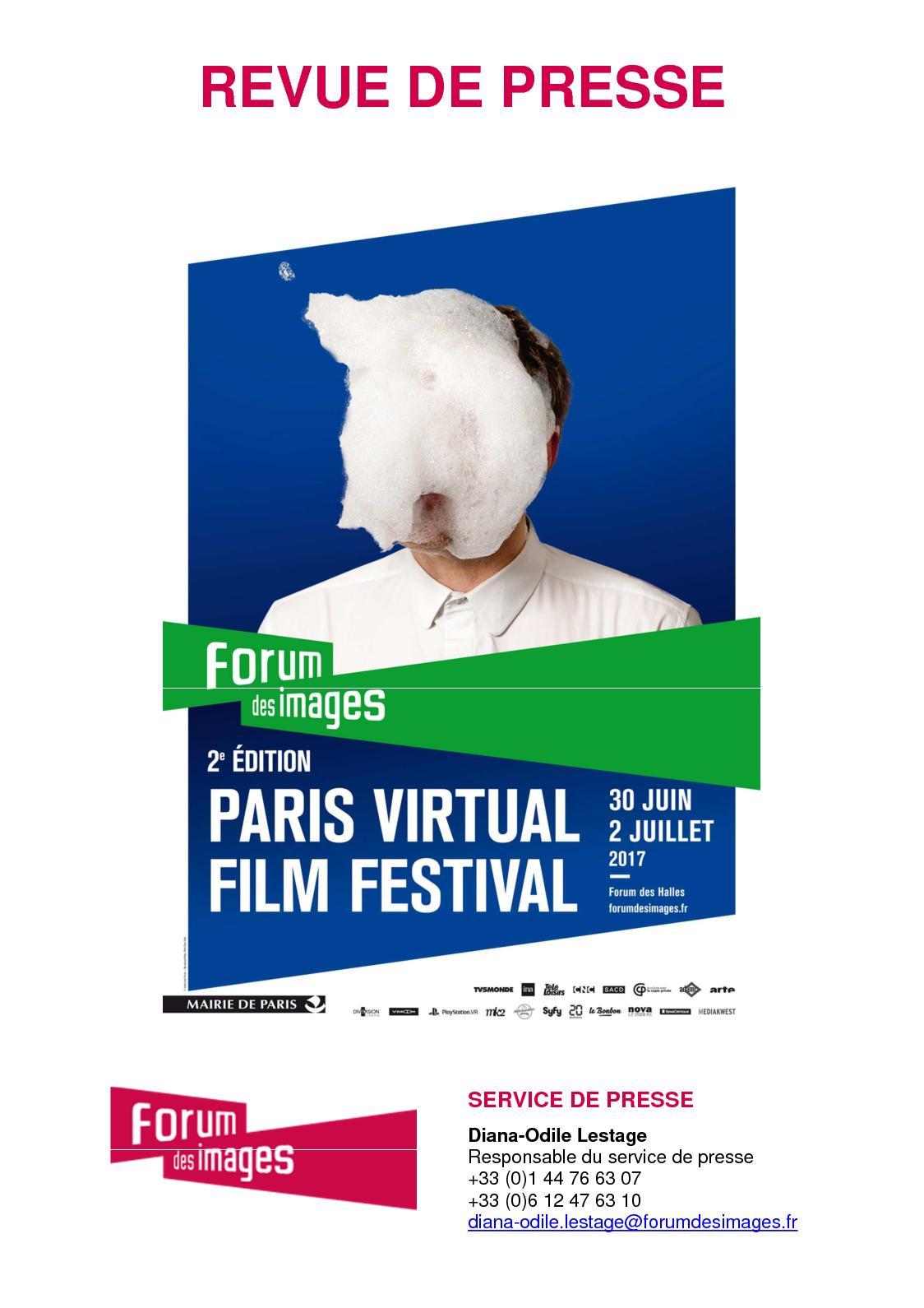 4498475795509e Calaméo - Revue de presse Paris Virtual Film Festival 2e édition