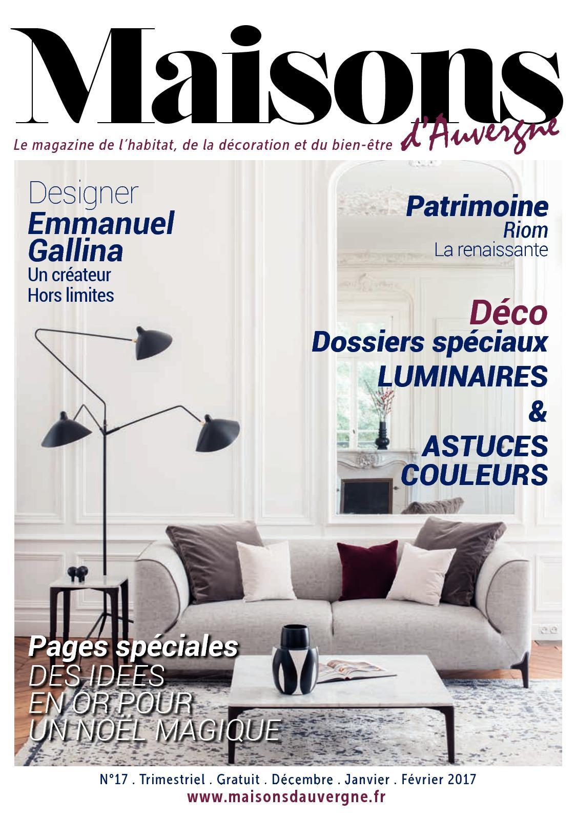 Papier Peint Hicks Hexagon Pas Cher calaméo - maisons d'auvergne n°17 - décembre/janvier/février