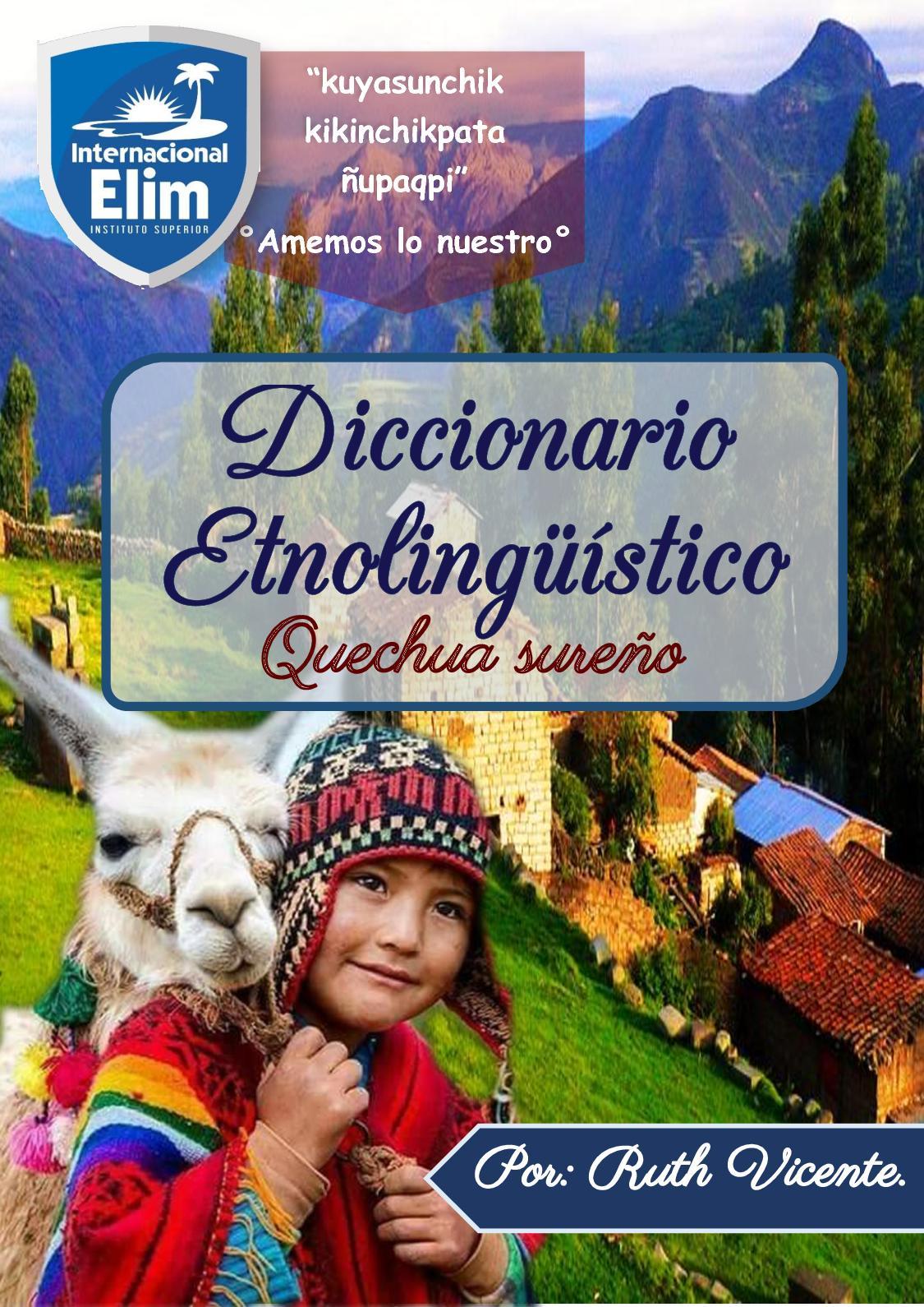 Calaméo Sureño Quechua Español Diccionario tsCxQrdh