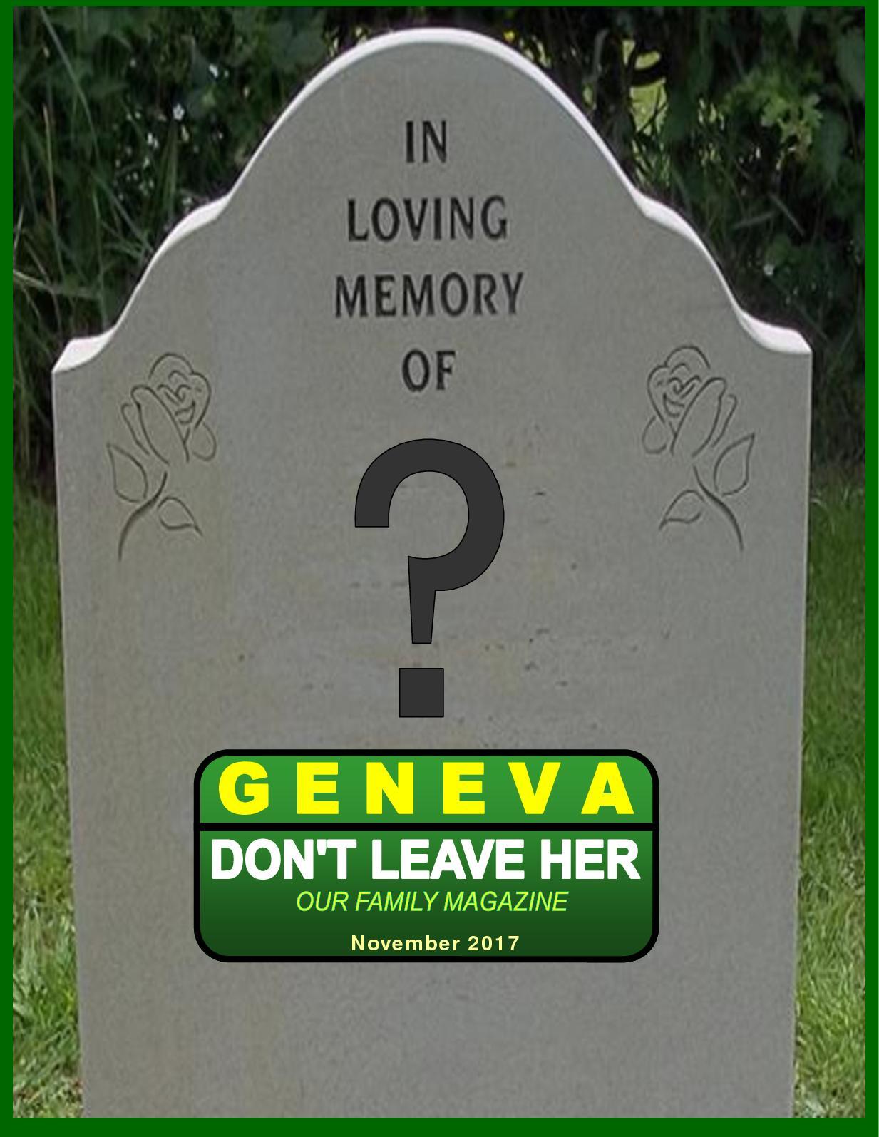 Calaméo - Geneva Don't Leave Her Family Magazine November 2017