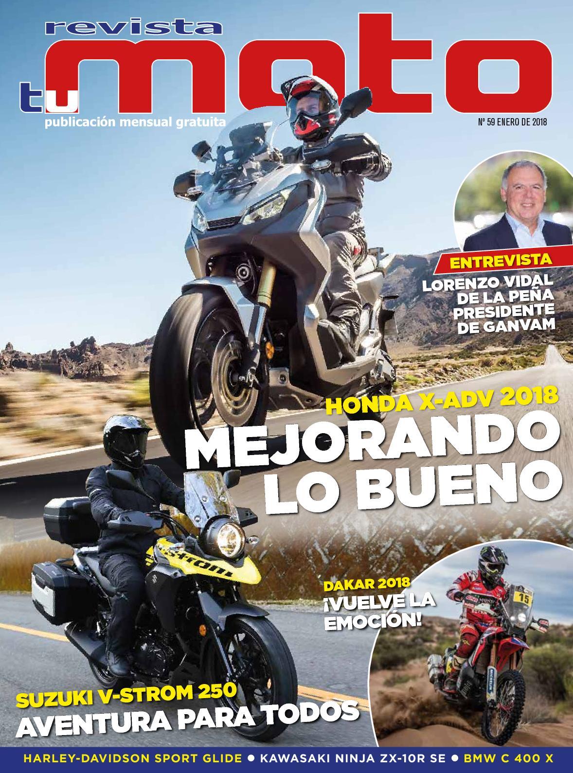 5771f840 Calaméo - Revista Tu Moto Mes De Enero 2018 Nº 59