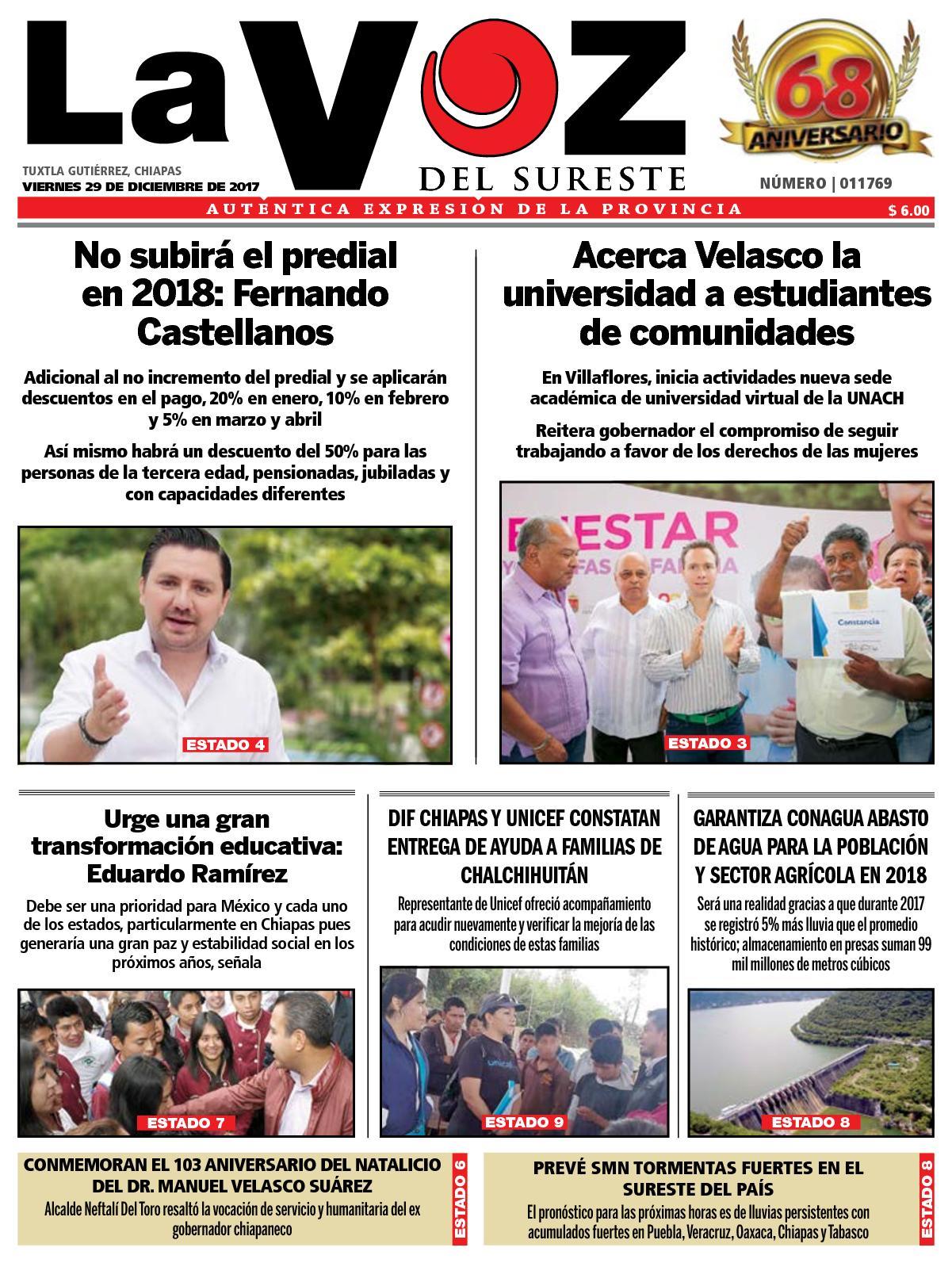 best service b25f8 d7435 Calaméo - Diario La Voz del Sureste