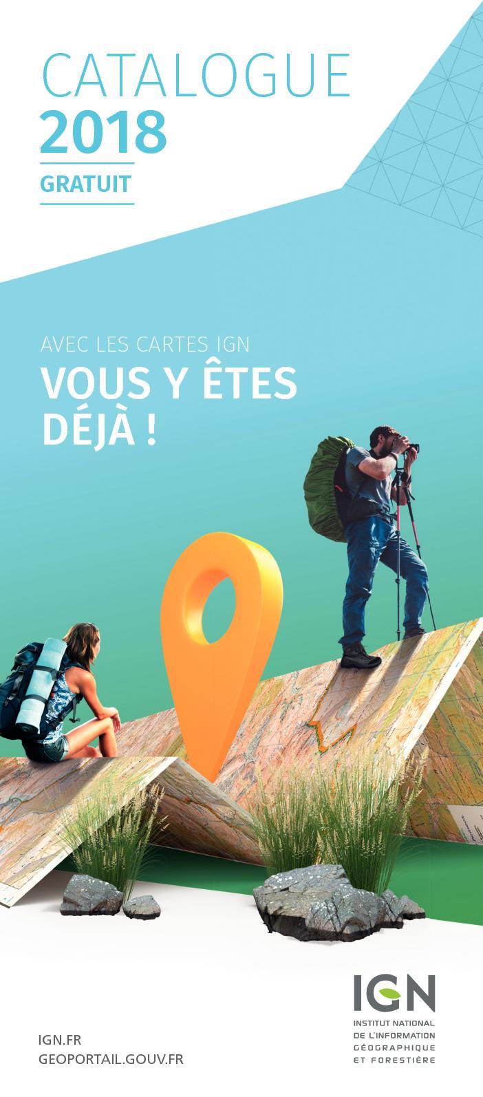 Calaméo - 2018 - Catalogue Grand Public IGN 761c81858d7