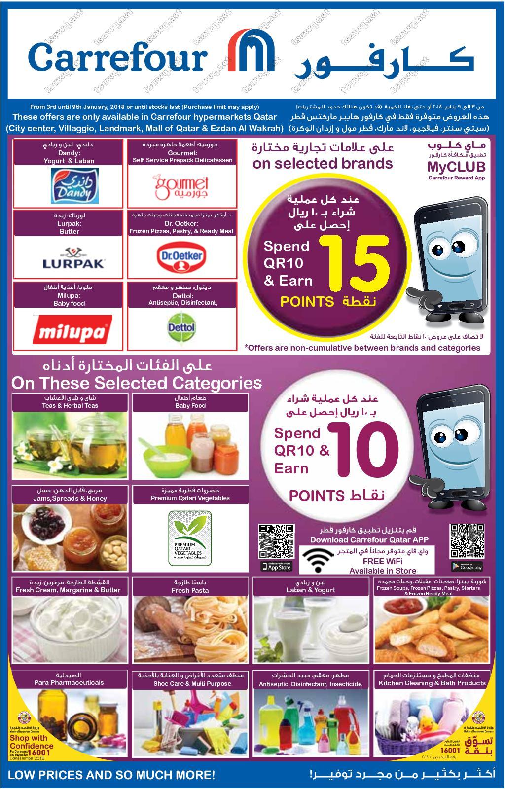 Calaméo Tsawq Net Carrefour Hyper Qatar 03 01 2018