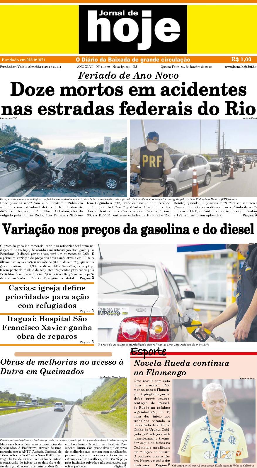 Calaméo - Jornal De Hoje 030118 3a5afe390ddb3