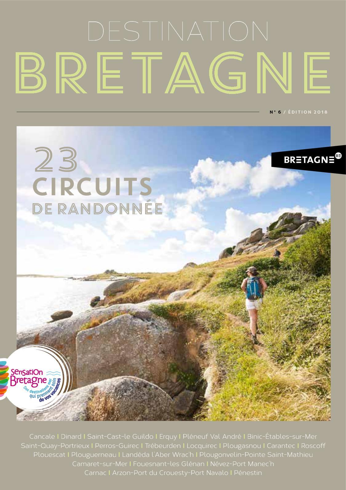 Calaméo Guide Rando Sensation Bretagne 2018