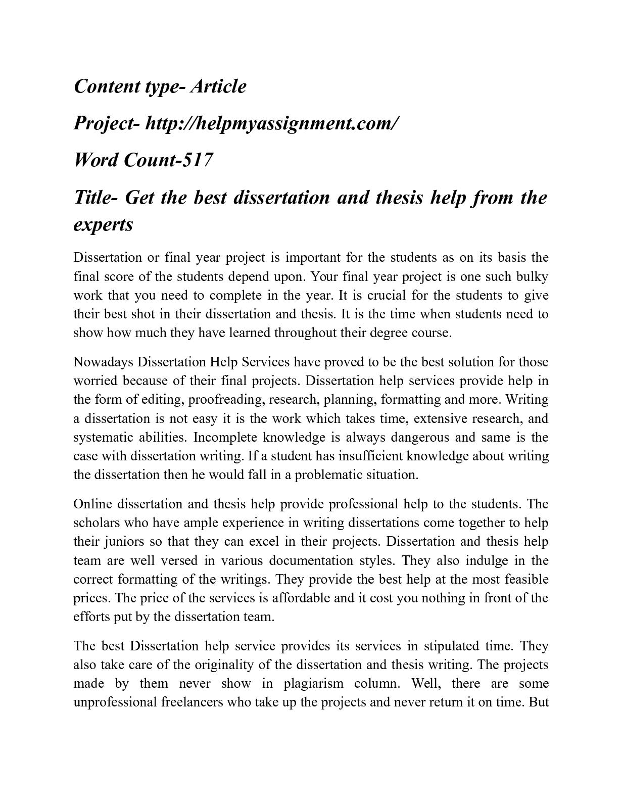 Final year project dissertation esl dissertation proposal ghostwriting for hire for college