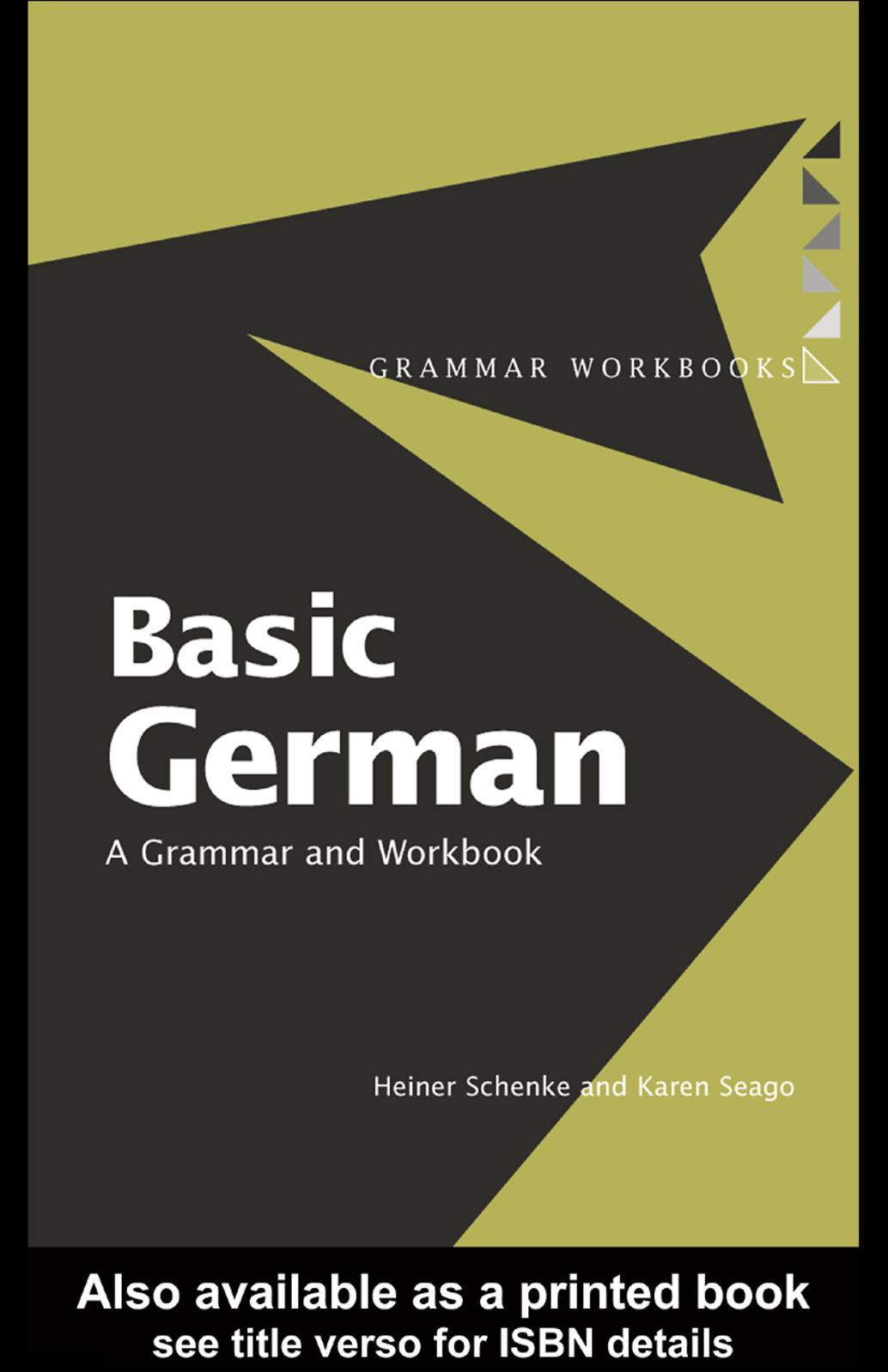 Calaméo   Basic German, A Grammar And Workbook