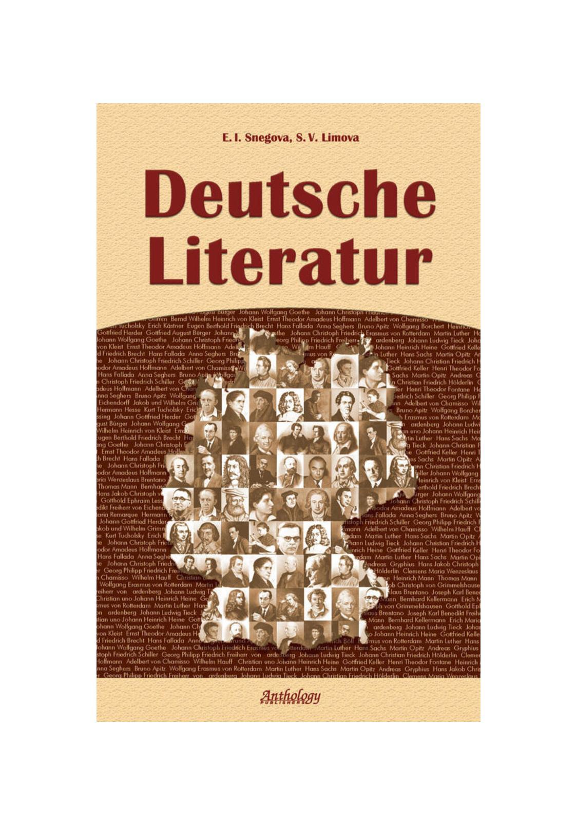 Calaméo Deutsche Literatur
