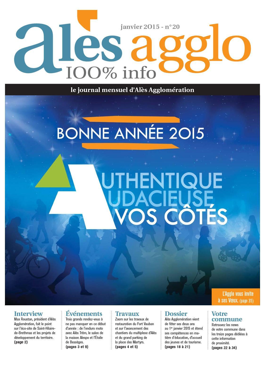 Calaméo Journal Alès Agglo N20 Janvier 2015