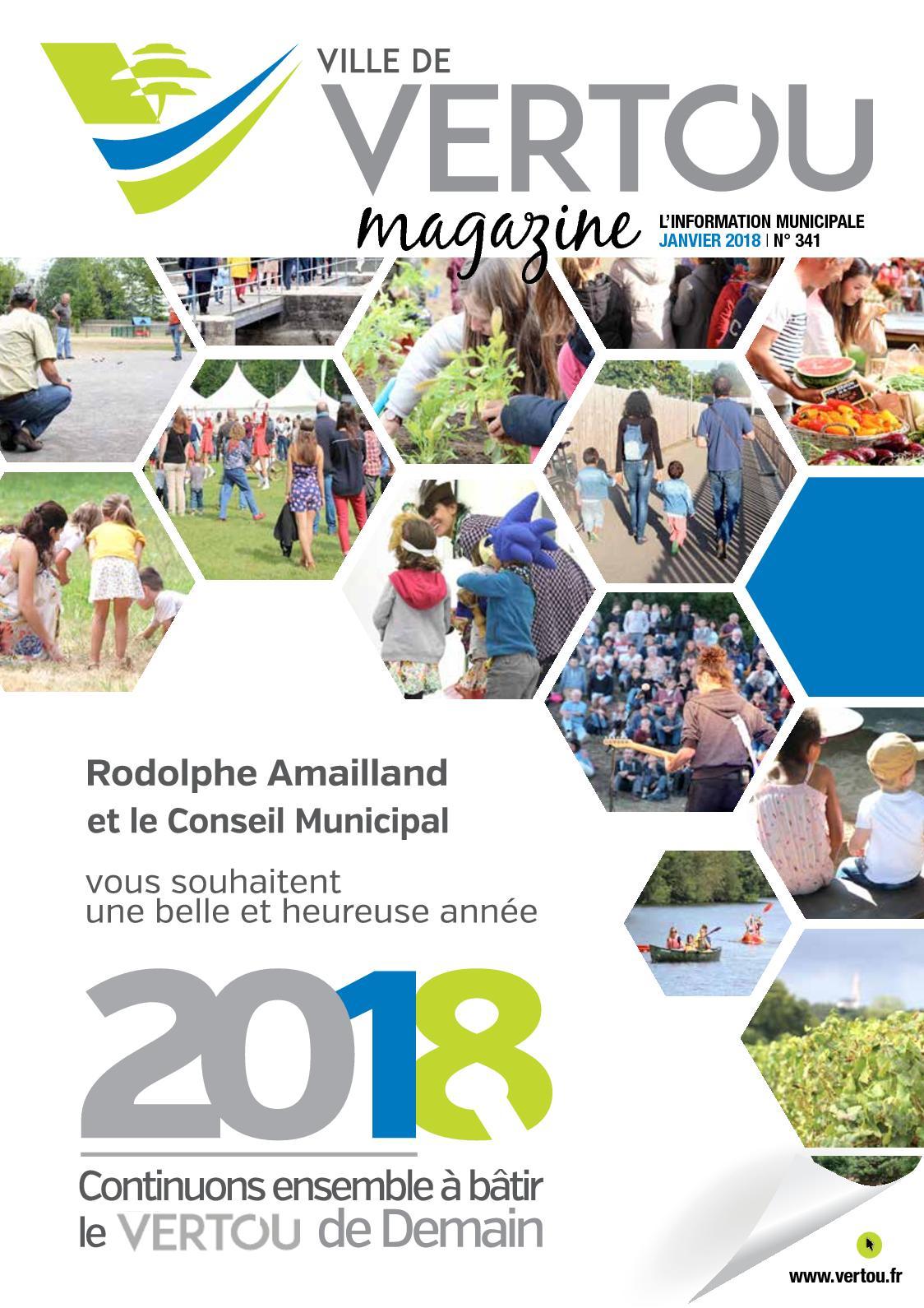 Atlantic Bain Morisseau Vertou calaméo - janv. 2018 - vertou magazine n°341